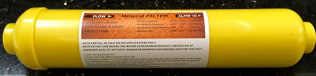 "Water Mineral Filter - Remineralizer Water Filter ALMB-10 2"" x 10"" 1/4""FNPT"