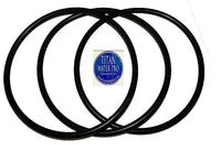 "O-Rings for Big Blue Water Filter Housing Sizes 10"" and 20"" X 4.5"" (3) Pcs TWP"