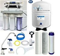 RO Dual Use Reverse Osmosis Water Filter Systems DI/RO 2 Outlets - TFC-1812-75