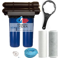 RO REVERSE OSMOSIS WATER FILTER 200 GPD, CLEAN WATER, HYDROPONIC & AQUARIUM