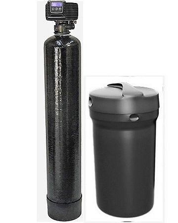 Fleck 5600SXT Metered Water Softener, 48000 Grain Capacity with By-pass Valve