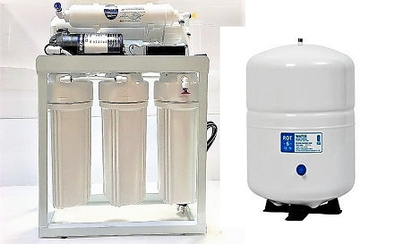 Light Commercial Reverse Osmosis Water Filter System 200 GPD - ROT-6 G Tank
