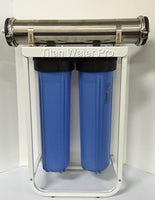 RO Reverse Osmosis Water Filter System 1000 GPD 1:1 Ratio High Flow