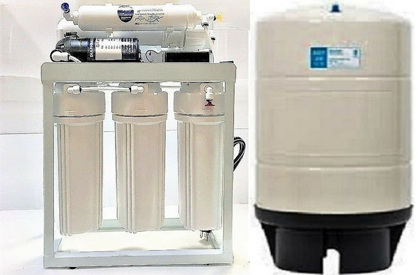 Reverse Osmosis Water Filter System TFC-2012-200 (ROT-20 G Tank) Light Commercial