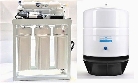 RO Light Commercial Reverse Osmosis Water Filter System 300 GPD
