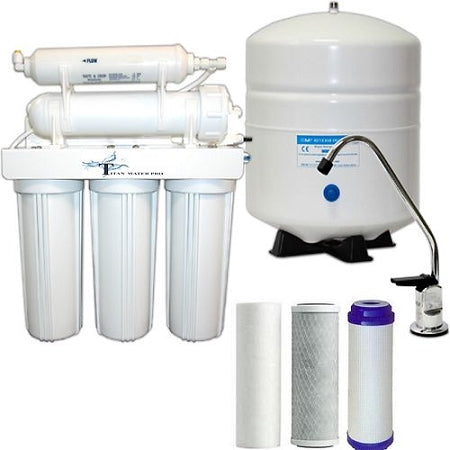 RO Water Filter -  Water Filter Reverse Osmosis System 5 Stages 50GPD