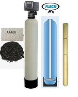 Whole-House Water Filter System Blended Catalytic & Activated Alumina Blend 2 CU FT - KDF55-85 Media Guard 6 Cartridge