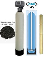 Whole-House Water Filter System Blended Catalytic & Bone Char  Carbon 1.5 CU FT - KDF55-85 MediaGuard 6 Cartridge