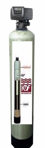 WHOLE HOUSE WATER FILTERS SYSTEMS KDF55/GAC BACKWASH VALVE 2 CU FT