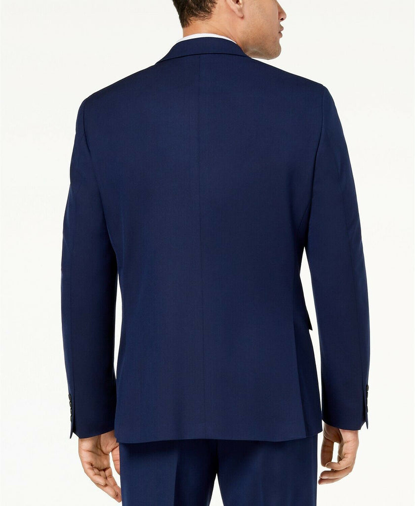 $360 Ryan Seacrest Ultimate Modern-Fit Stretch Suit Jacket 42S Bright Navy Blue