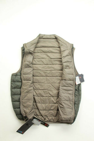 $125 Hawke & Co. Outfitter Packable Down Puffer Vest Medium Moss Green