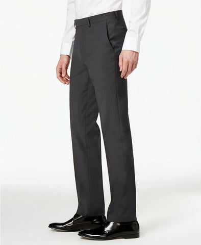 $175 Bar III Skinny Fit Stretch Wrinkle-Resistant Dress Pants 38 x 30 Charcoal