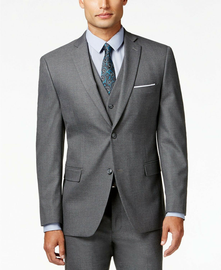 $500 Alfani Stretch Performance Slim-Fit Suit 36R / 30 x 30 Grey