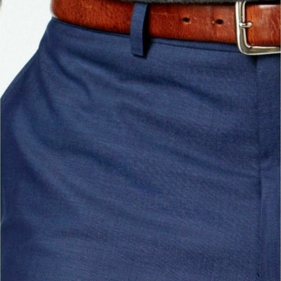 $125 Andrew Marc Men's Stretch Classic-Fit Blue Neat Dress Pants 42 x 32 NEW