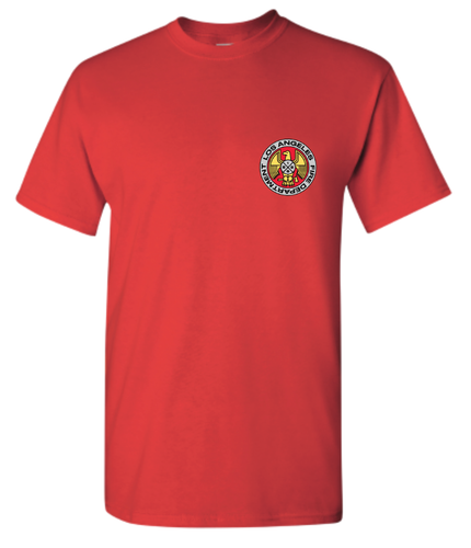 LAFD Red Crest T-Shirt