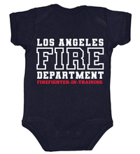 Load image into Gallery viewer, Navy Baby Onesie