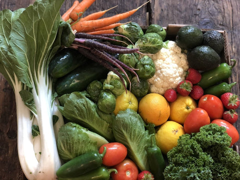 Armor Farms Weekly Box Sept. 25th & 26th, Produce