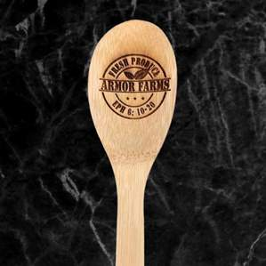 Armor Farms Wooden Spoon