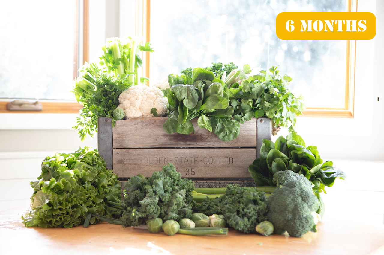 Gift The Bushel Produce Box 6 Months