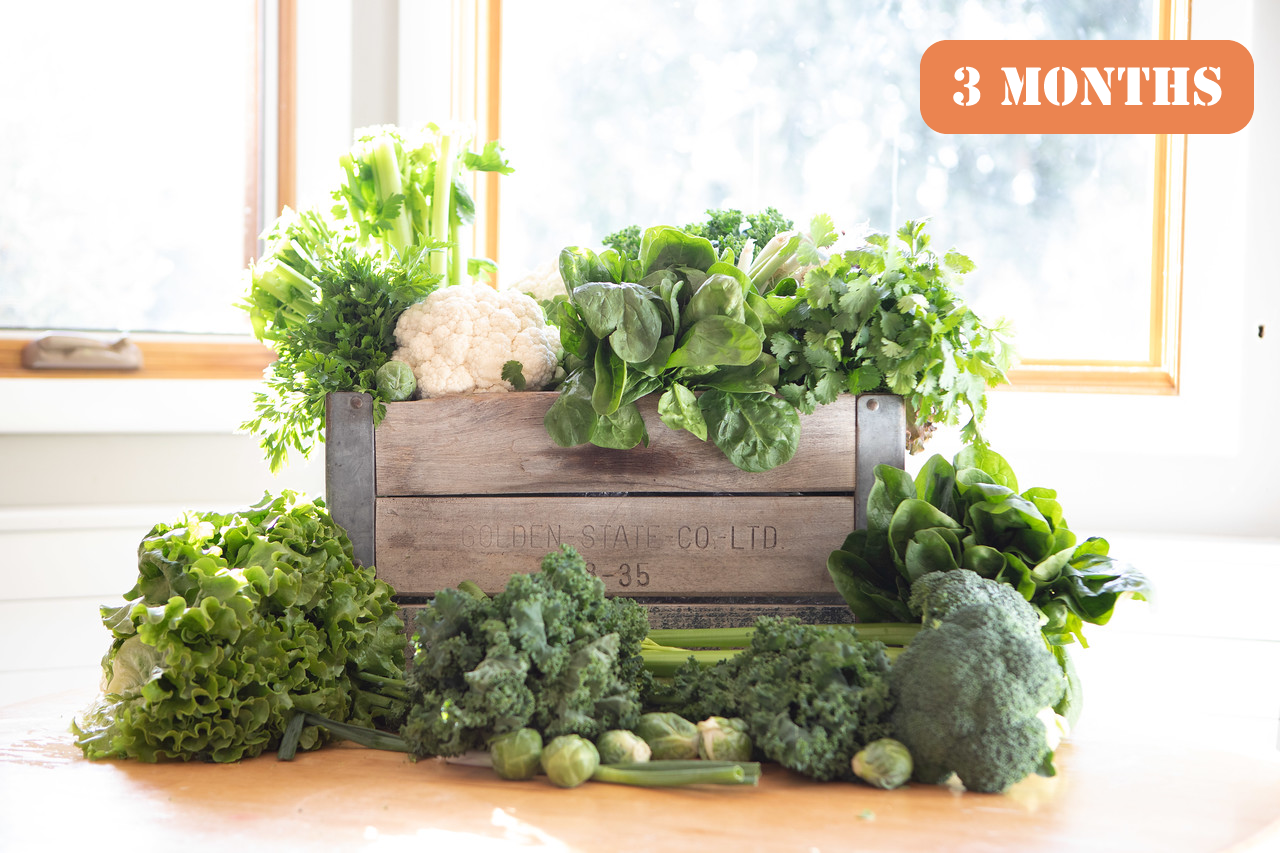 Gift The Bushel Produce Box 3 Months