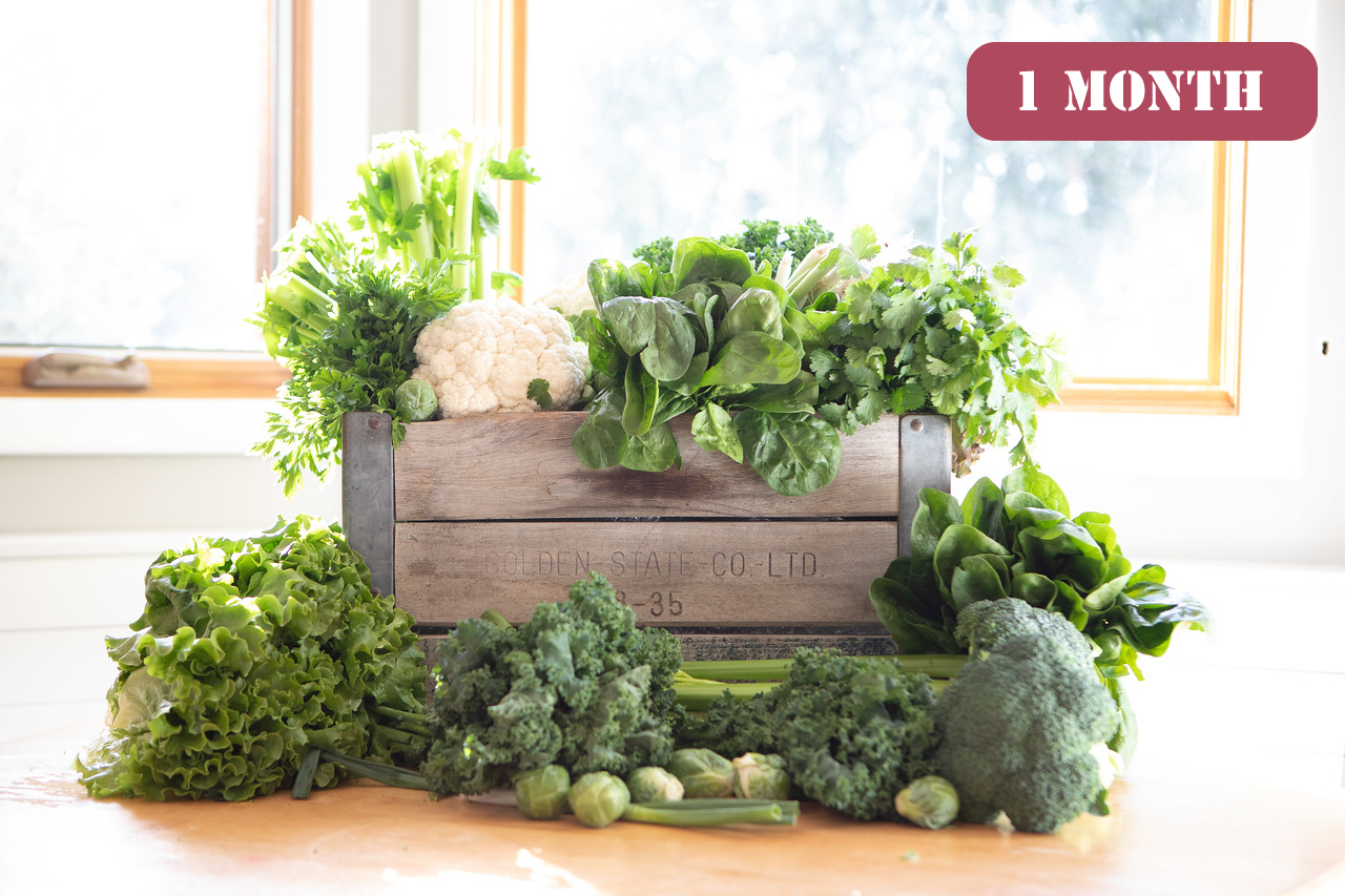 Gift The Bushel Produce Box 1 Month