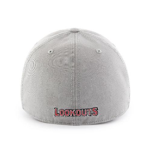 Chattanooga Lookouts Grey Fitted Hat
