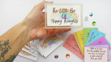 Load image into Gallery viewer, The Little Box Of Happy Thoughts - Little Happy Thoughts