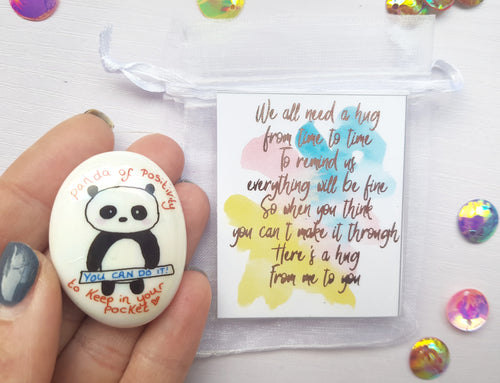 Panda Of Positivity - Mental Health Gift Set - Little Happy Thoughts