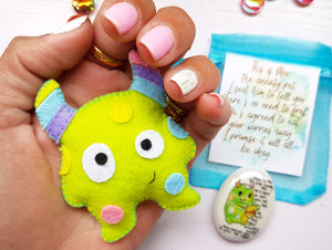 Max Pack - Max The Anxiety Monster Gift Set - Little Happy Thoughts