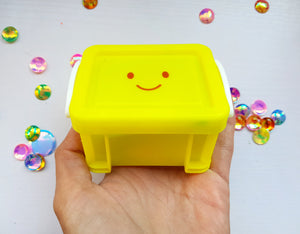 Mini Happy Smiley Box - Little Box Of Smiles - Little Happy Thoughts