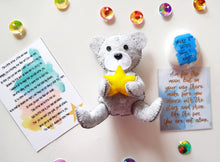 Load image into Gallery viewer, Arthur - The Little Make A Wish Bear - Little Happy Thoughts