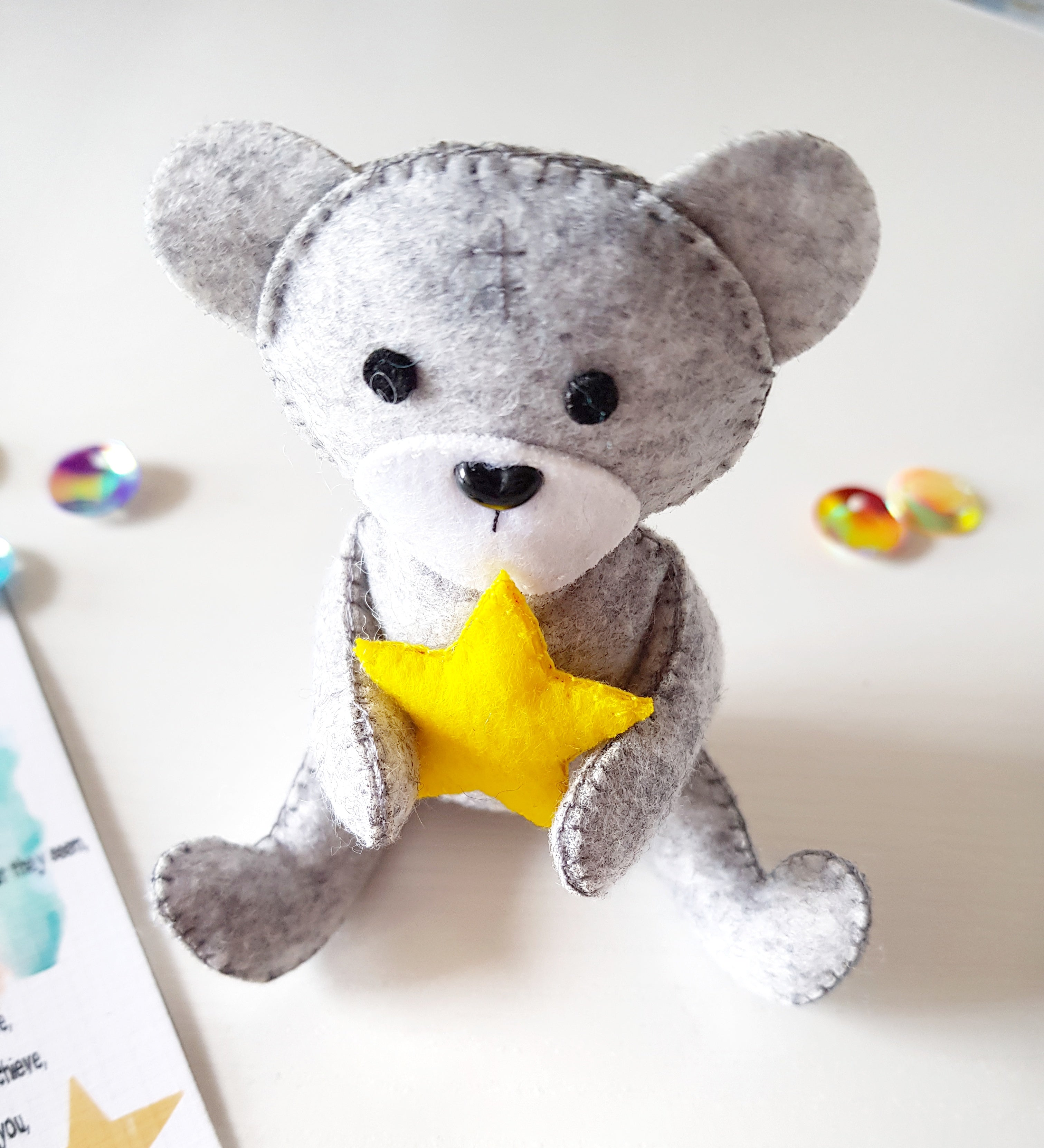 Arthur - The Little Make A Wish Bear - Little Happy Thoughts