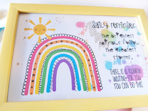 Daily Reminder - Ray Of Sunshine Set 💛🌞🌈 - Little Happy Thoughts