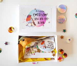 A little Robin Reminder - You Are Not Alone Gift Set ❣💕 - Little Happy Thoughts
