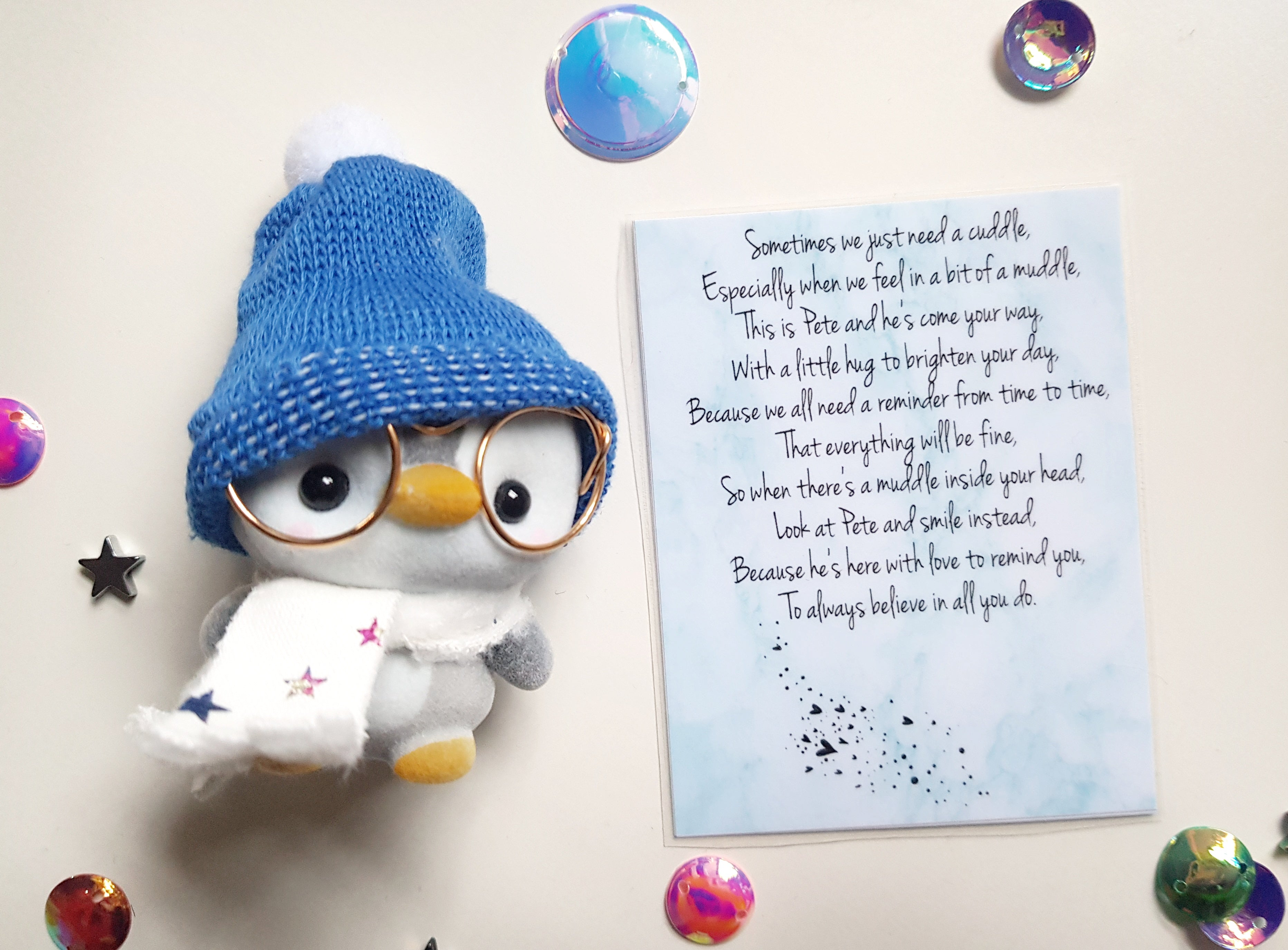 Pete The Penguin - Believe In You! 💙 - Little Happy Thoughts