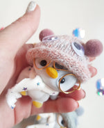 Load image into Gallery viewer, LIMITED EDITION - Pete The Penguin Goggly Eyes Bobble Hat!- Believe In You! - Little Happy Thoughts