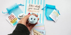 Take What You Need Bag - Positivity Gift - Little Happy Thoughts