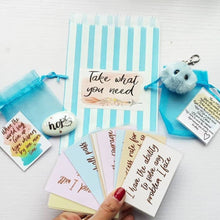 Load image into Gallery viewer, Take What You Need Bag - Positivity Gift - Little Happy Thoughts