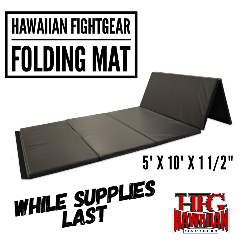 NEWS: HFG FOLDING MATS NOW IN STOCK WHILE SUPPLIES LAST! GET YOURS NOW BEFORE THEY ARE ALL GONE.