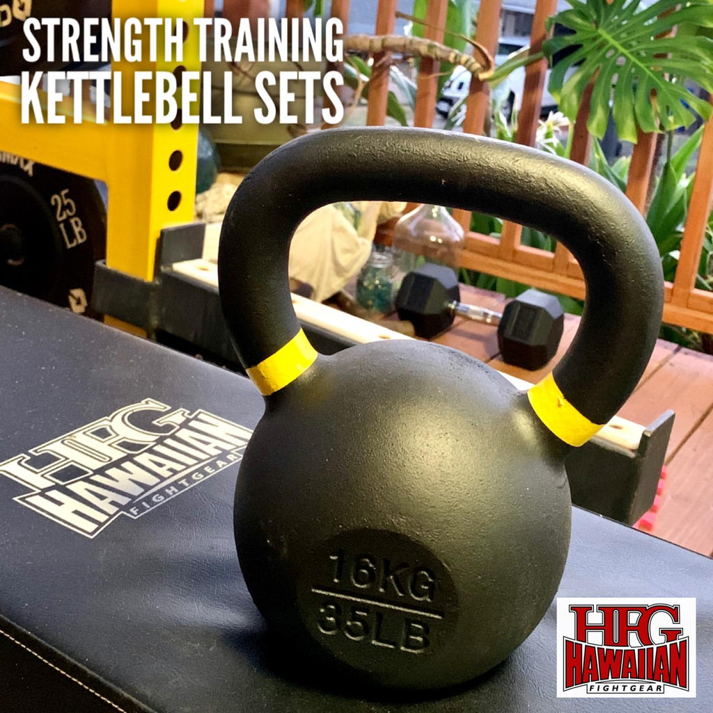 "NEW!  INTRODUCING HFG STRENGTH TRAINING EQUIPMENT: ""KETTLEBELL SET""- 6 PCS."