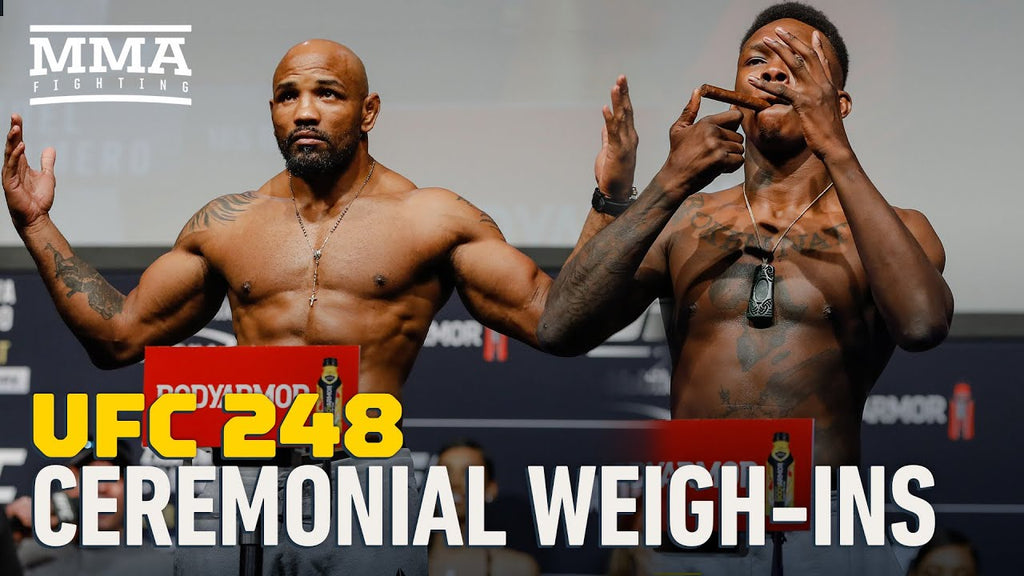Best of UFC 248 ceremonial weigh-ins Adesanya vs. Romero~Zhang vs. Joanna