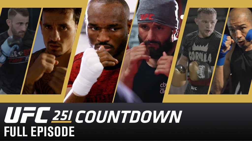 CHECK OUT UFC 251 COUNTDOWN VIDEO PREVIEW: USMAN VS MASVIDAL/ MAX HOLLOWAY VS VOLKANOVSKI