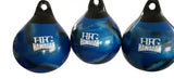 HFG Water Punching Bag- 18 in.~ 120 lbs.-Blue Swirl