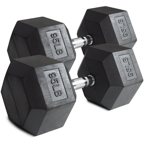 "HFG Top Grade ""Dumbbell Pairs~65 to 100 lbs."""