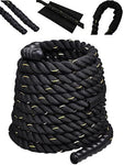HFG Conditioning Battle Rope- 20ft. Blk.