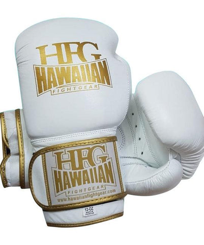 """White Gold Label"" Boxing Gloves"