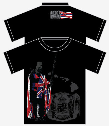 "HFG ""Hawaiian King Kamehameha"" MMA T-Shirt-Black"