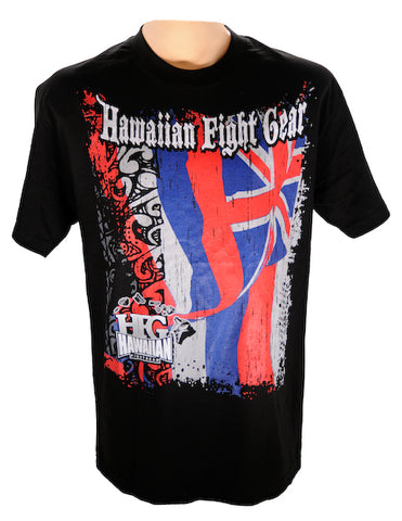 Hawaiian Flag MMA T-Shirt