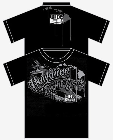"HFG  Hawaiian ""Respect"" MMA T-Shirt"