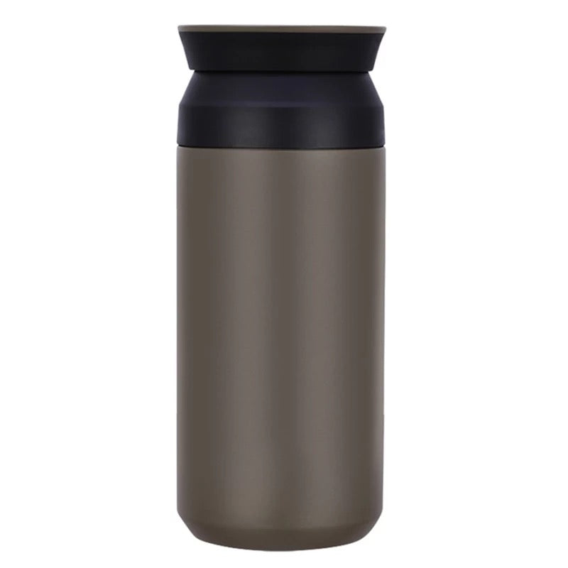 Portable Thermos Water Bottle brown